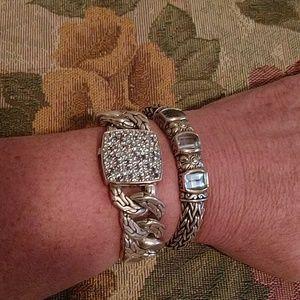 "John Hardy Lava Fire Link Bracelet 7"""